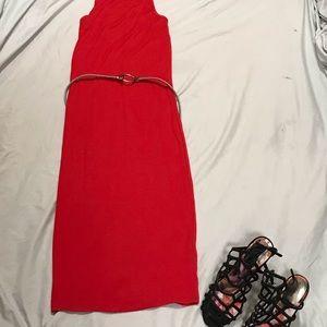 Express Sleeveless Midi Dress Sixe XS